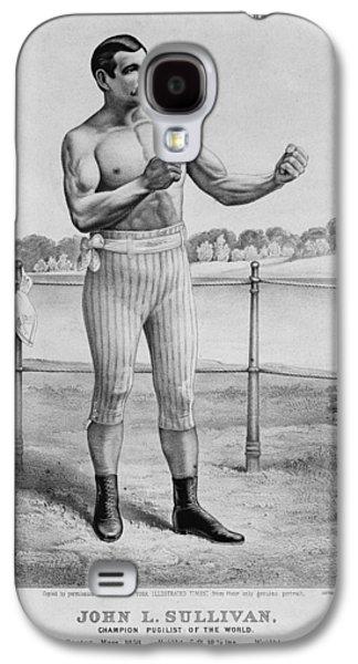Boxer Galaxy S4 Cases - John L. Sullivan (1858-1918) Galaxy S4 Case by Granger
