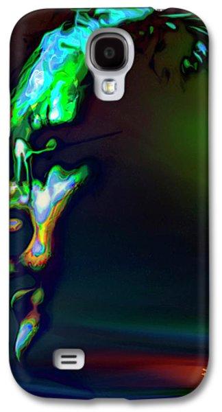 Beatles Galaxy S4 Cases - John Lennon Galaxy S4 Case by  Fli Art