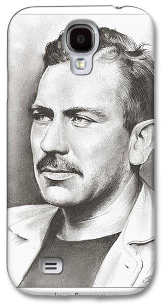 John Steinbeck Galaxy S4 Case by Greg Joens