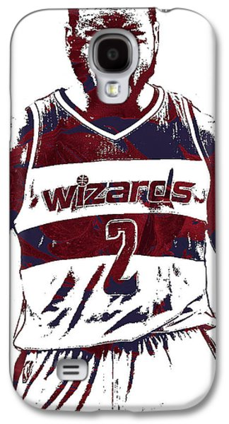 John Wall Washington Wizards Pixel Art 5 Galaxy S4 Case