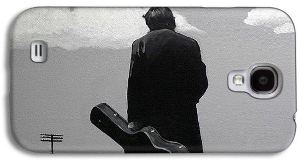 Johnny Cash Galaxy S4 Case