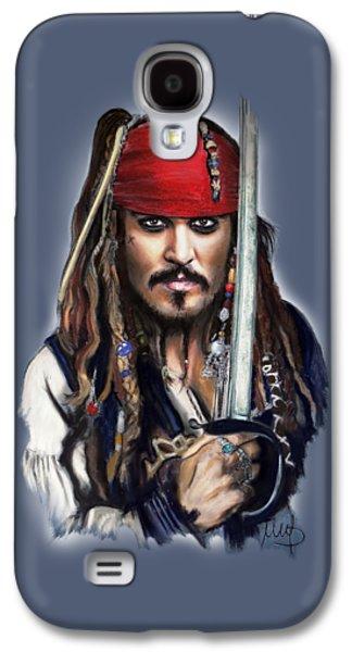 Johnny Depp As Jack Sparrow Galaxy S4 Case