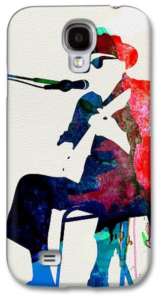 Johnny Lee Hooker Watercolor Galaxy S4 Case by Naxart Studio