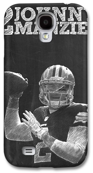 Johnny Manziel Galaxy S4 Case by Semih Yurdabak