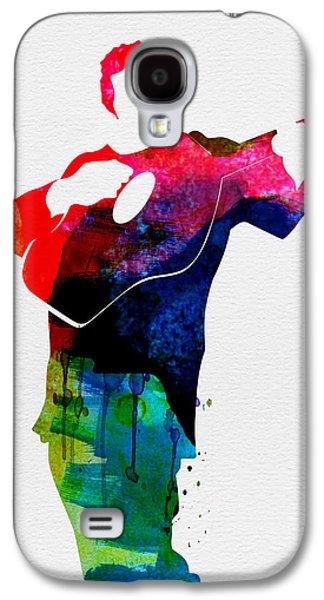 Johnny Watercolor Galaxy S4 Case by Naxart Studio