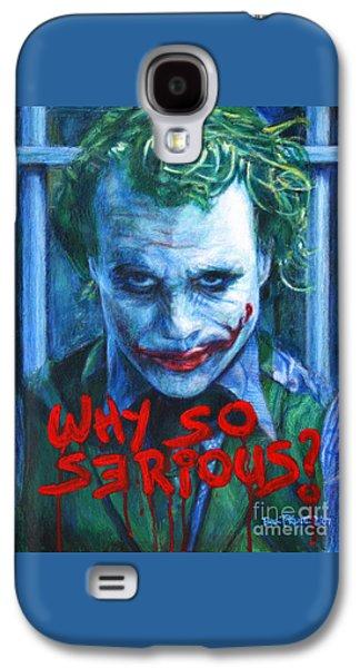 Joker - Why So Serioius? Galaxy S4 Case
