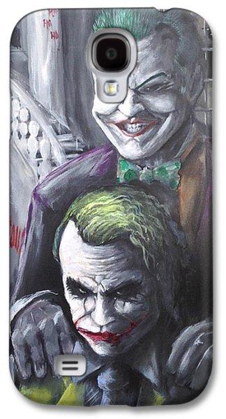 Jokery In Wayne Manor Galaxy S4 Case