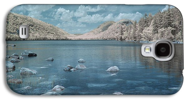 Jordan Pond Blue Galaxy S4 Case