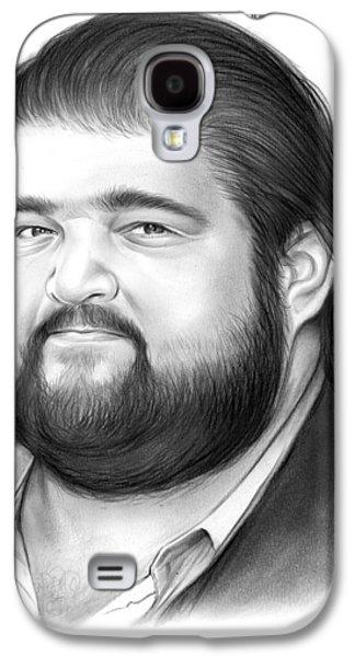 Jorge Garcia Galaxy S4 Case by Greg Joens