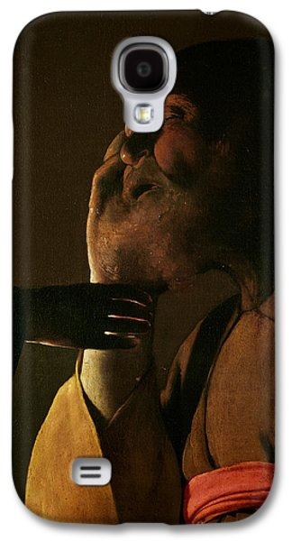 Joseph And The Angel Galaxy S4 Case by Georges de la Tour