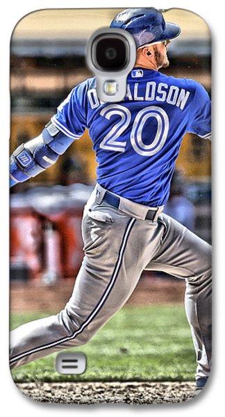 Josh Donaldson Toronto Blue Jays Galaxy S4 Case by Joe Hamilton