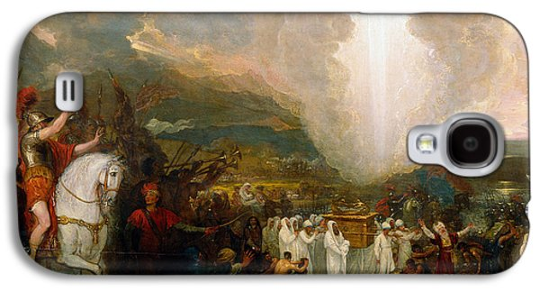 Joshua Passing The River Jordan With The Ark Of The Covenant Galaxy S4 Case by Celestial Images