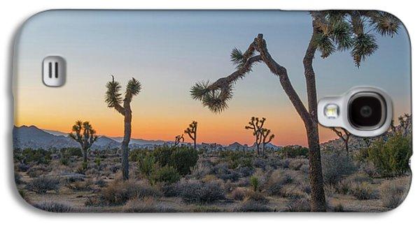Desert Galaxy S4 Case - Joshua Sunset by Joseph Smith