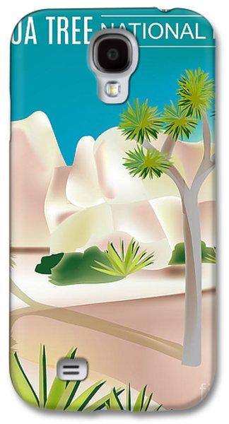 Joshua Tree National Park Vertical Scene Galaxy S4 Case