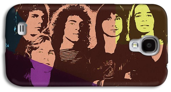 Journey Rock Band Pop Art Galaxy S4 Case