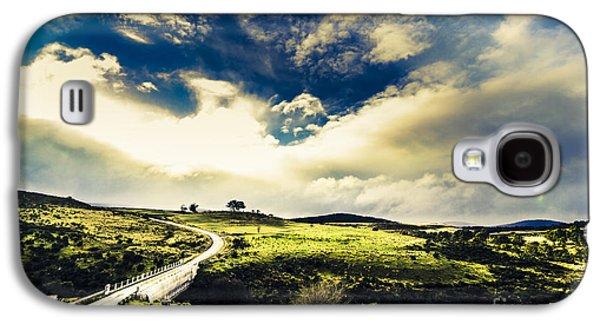 Journey Through Hills And Valleys Galaxy S4 Case