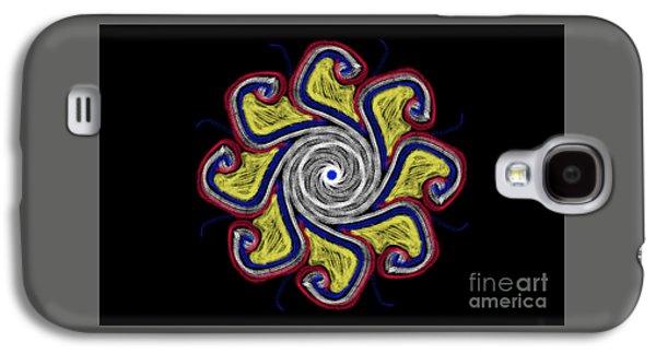 Joy Mandala Galaxy S4 Case by Eva Maria Nova