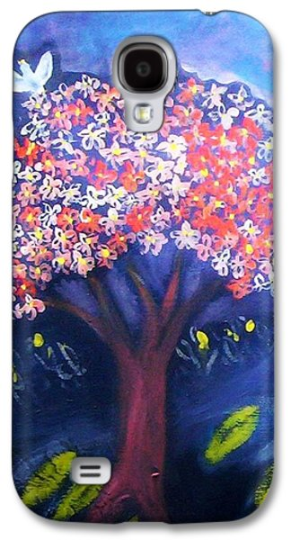 Galaxy S4 Case featuring the painting Joy by Winsome Gunning