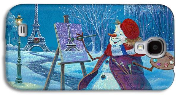 Joyeux Noel Galaxy S4 Case by Michael Humphries
