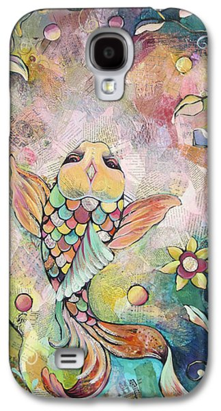 Joyful Koi I Galaxy S4 Case by Shadia Derbyshire