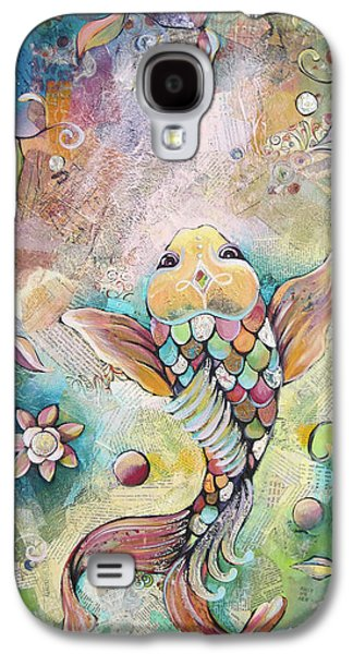 Joyful Koi II Galaxy S4 Case by Shadia Derbyshire