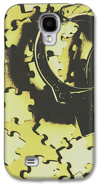 Judicial Jigsaw Galaxy S4 Case by Jorgo Photography - Wall Art Gallery