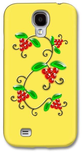 Juicy Berries Galaxy S4 Case by Anastasiya Malakhova