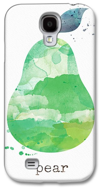 Pear Galaxy S4 Case - Juicy Pear by Linda Woods