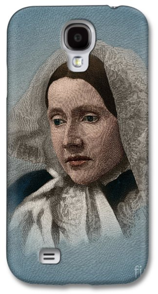 Julia Ward Howe, American Abolitionist Galaxy S4 Case