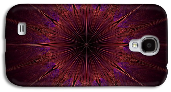 The Violet Blessings Of The Crown Chakra Galaxy S4 Case