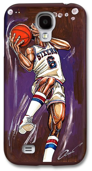 Julius Erving Galaxy S4 Case by Dave Olsen
