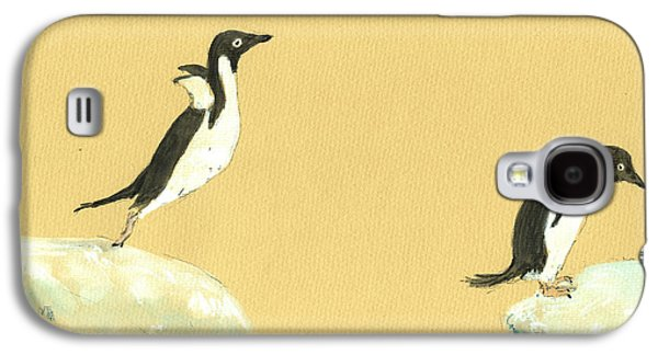 Jumping Penguins Galaxy S4 Case