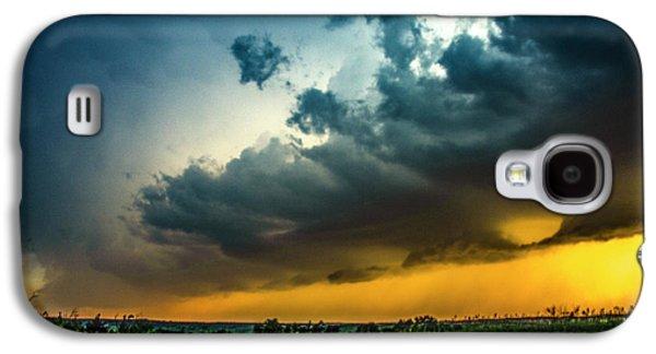 Nebraskasc Galaxy S4 Case - June Comes In With A Boom 012 by NebraskaSC