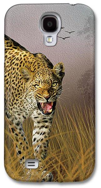 Jungle Attitude Galaxy S4 Case by Diane Schuster