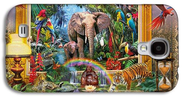Jungle Coming Galaxy S4 Case