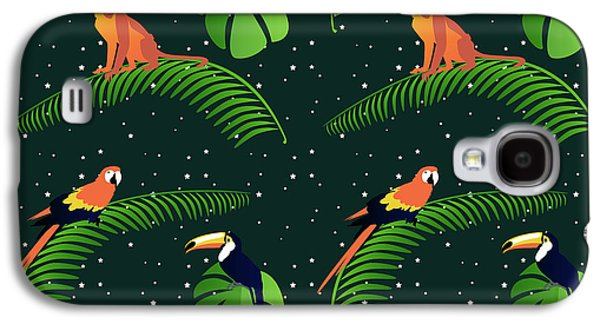 Jungle Fever Galaxy S4 Case