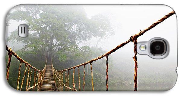 Bridges Galaxy S4 Case - Jungle Journey by Skip Nall