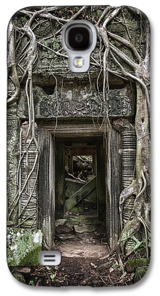 Jungle Temple Door #1 Galaxy S4 Case