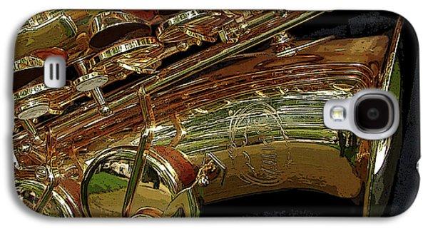 Jupiter Saxophone Galaxy S4 Case