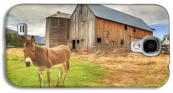 Just Another Day On The Farm Galaxy S4 Case