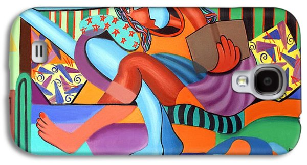 Just Chillin Galaxy S4 Case by Anthony Falbo