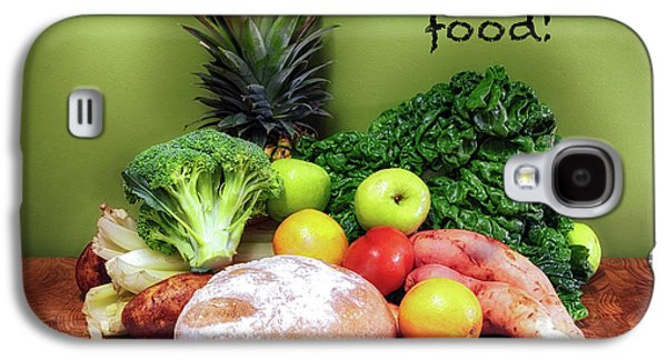 Just Eat Real Food Galaxy S4 Case