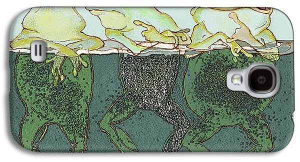 Just Hanging Galaxy S4 Case by Peggy Wilson
