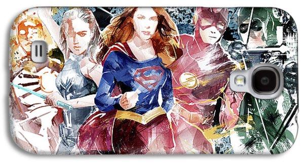 Justice League Galaxy S4 Case by Unique Drawing