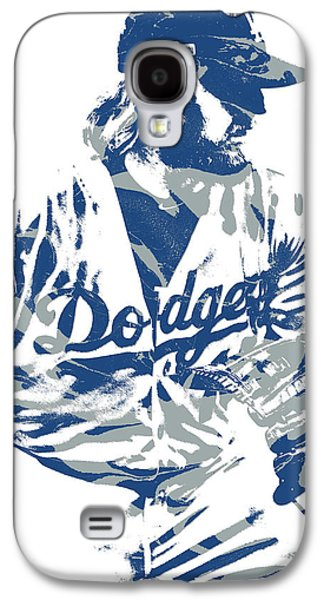 Justin Turner Los Angeles Dodgers Pixel Art 15 Galaxy S4 Case