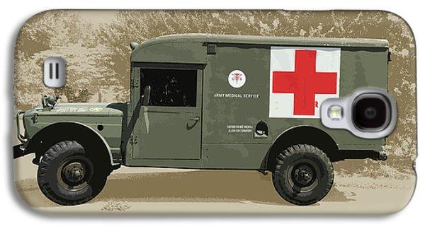 Kaiser Jeep M725 Army Galaxy S4 Case