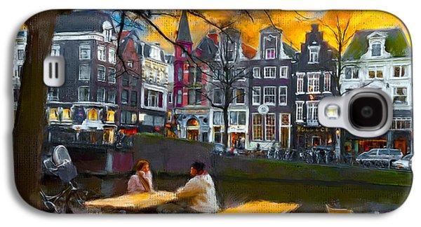 Kaizersgracht 451. Amsterdam Galaxy S4 Case by Juan Carlos Ferro Duque