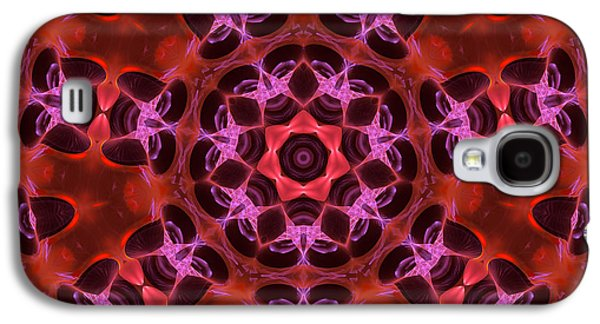 Kaleidoscope With Seven Petals Galaxy S4 Case
