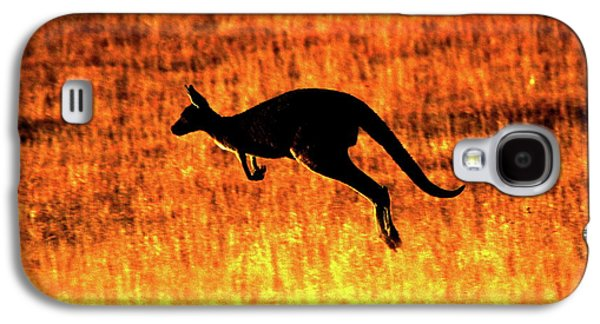 Kangaroo Sunset Galaxy S4 Case by Bruce J Robinson