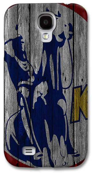 Kansas City Scouts Wood Fence Galaxy S4 Case